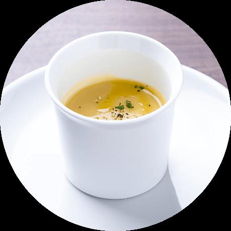 自家製季節の野菜スープ
